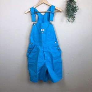 Dickies | Blue Overall Shorts